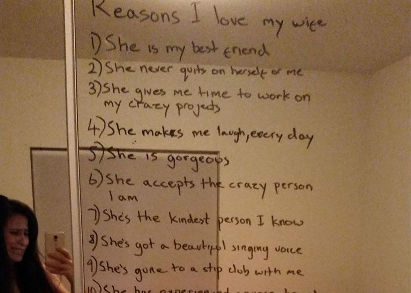 This husband left a message to his wife who is suffering with depression and it'll have you in tears https://t.co/a92BcRDkEw