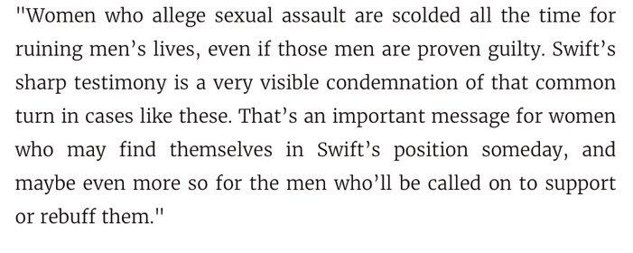 Taylor Swift's testimony in her groping case is important. Here's why ... https://t.co/bd1fXw5fNS