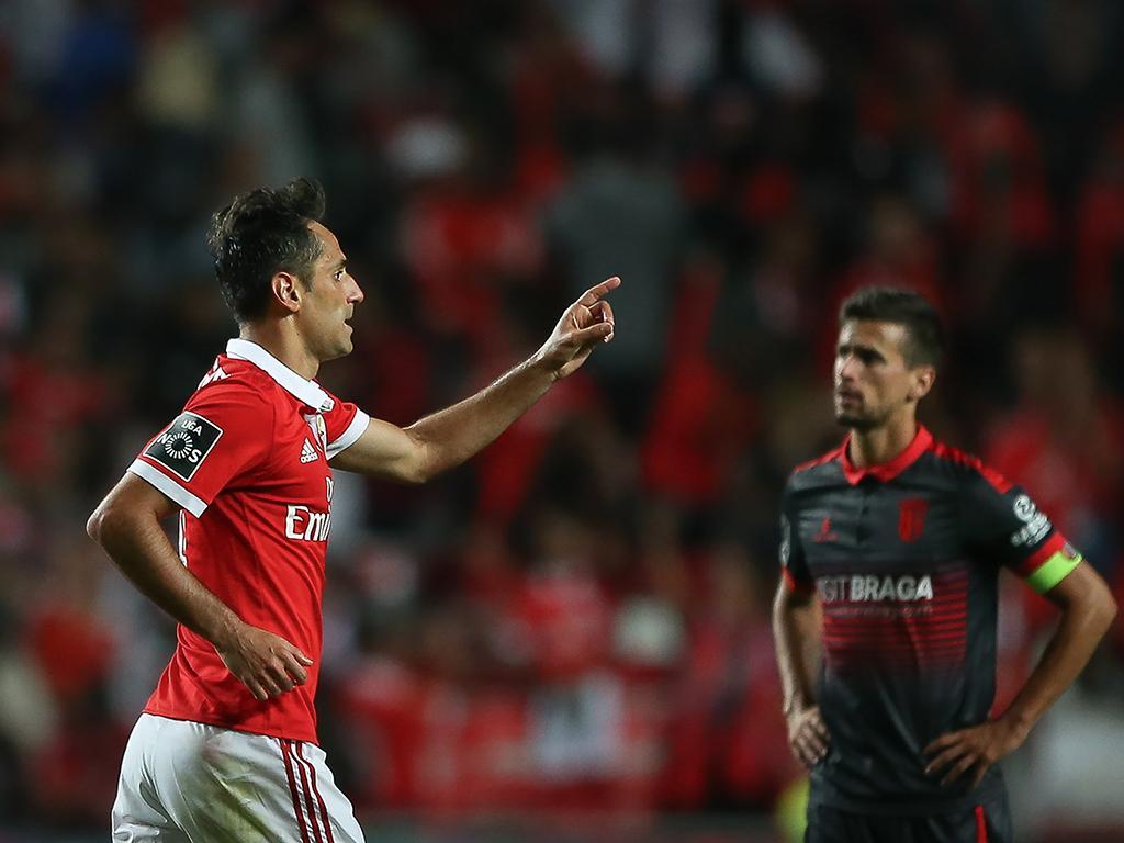 Jonas isola-se como segundo melhor marcador estrangeiro do Benfica https://t.co/WQaHvzUzBU
