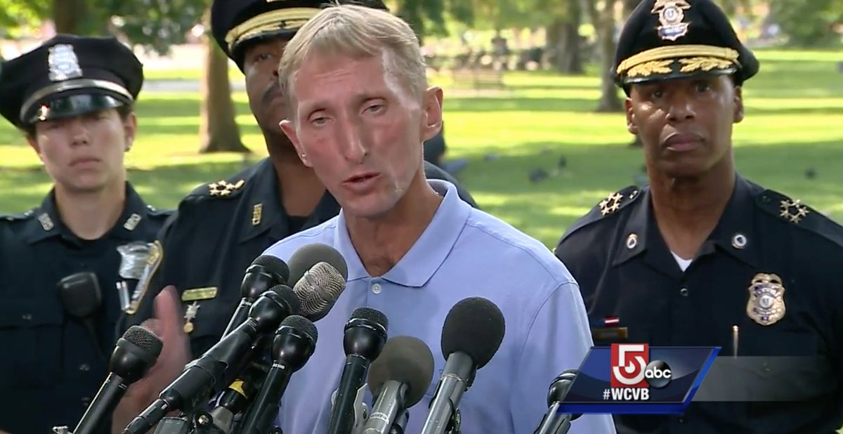Boston Police Commissioner: '99.9% of the people were here for the right reason, and that was to fight bigotry and hate'