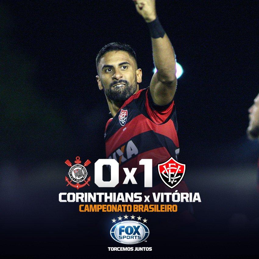 ACABOU A INVENCIBILIDADE! Após 34 jogos sem perder, o líder Corinthians cai para o Vitória em Itaquera!
