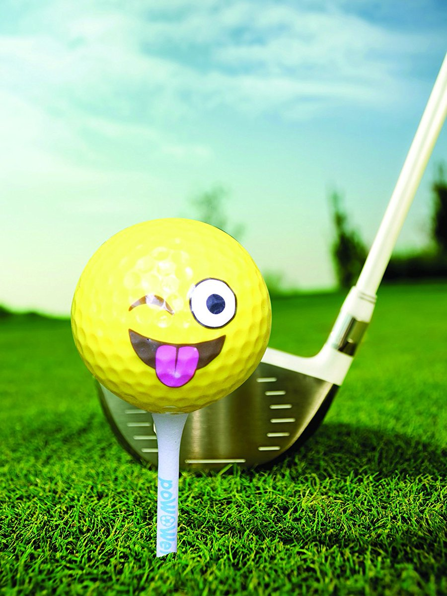 PoWOWer Yellow Emoji Golf Balls 9 Pack, fits USGA rules, Great Gift Set For Golf Lovers  https://www. amazon.com/dp/B071VB6V6S  &nbsp;   #Yellow #Emoji #Golf #Balls <br>http://pic.twitter.com/6riIf9Zcbj