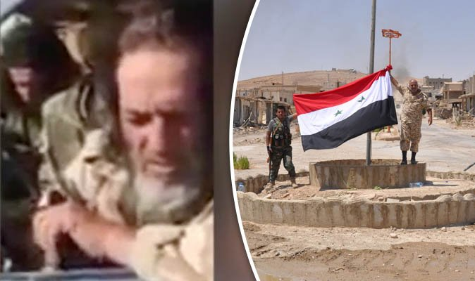 'We're finished': ISIS fighter admits defeat after surrendering to soldiers in Syria:  https://t.co/lGbwSSXCmb