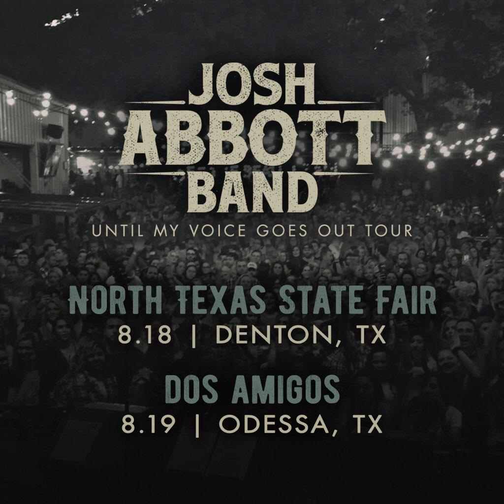 Josh Abbott on Twitter: