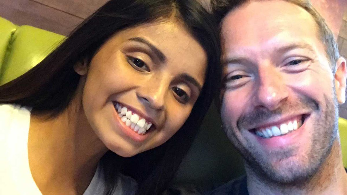 WOW!! Coldplay singer Chris Martin makes detour to visit terminally ill Chicago teenager: https://t.co/thlMCy469s