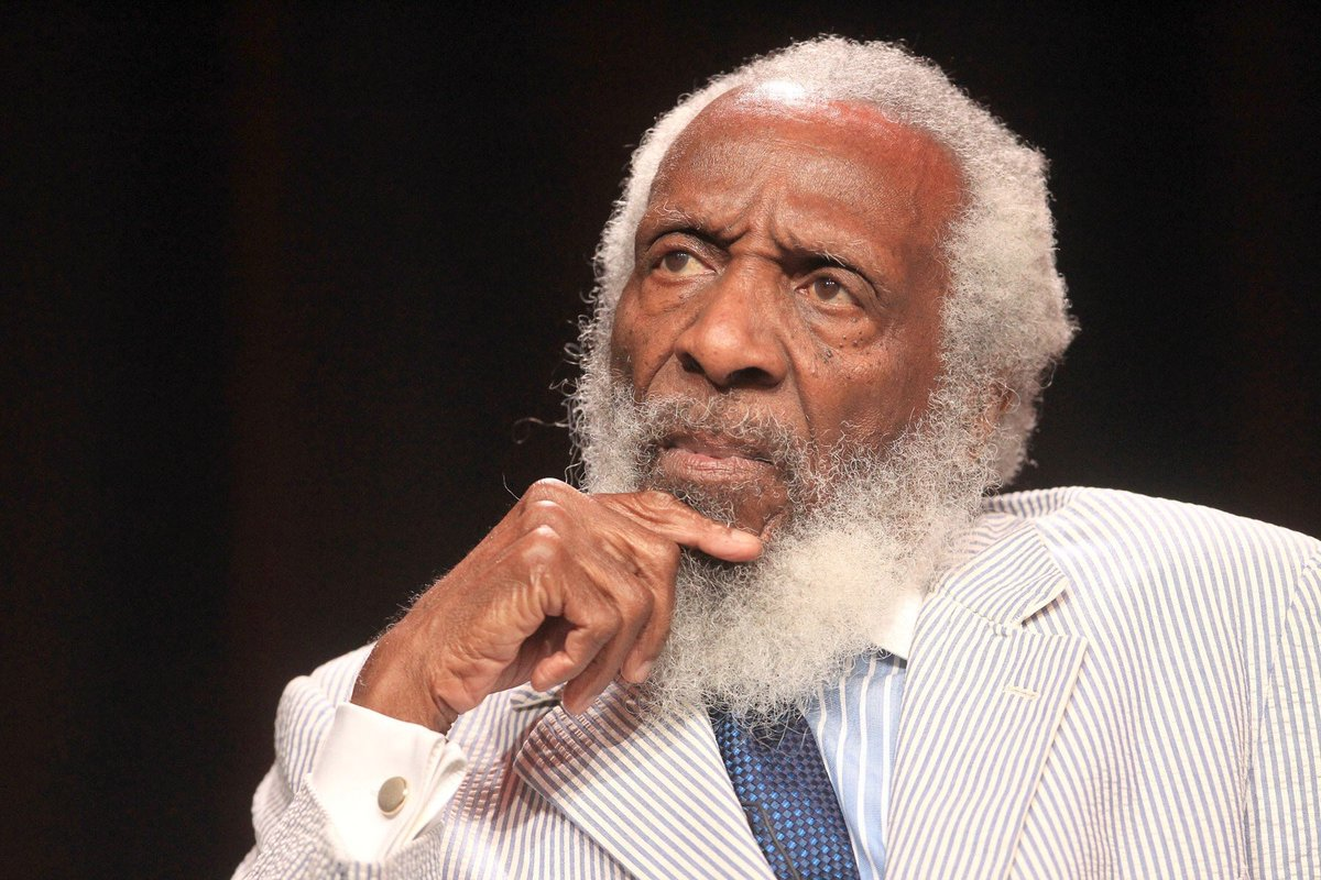 RIP to civil rights activist, speaker, and comedian Dick Gregory. http...