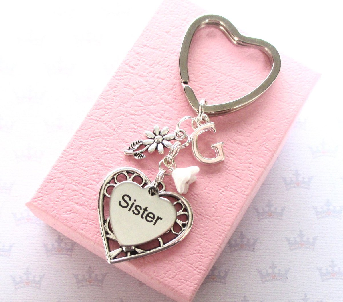 Sister gift - Daisy keyring - Personalised Sister keyring -…  http:// tuppu.net/fc03d32  &nbsp;   #DoodlepopDesigns #Personalised <br>http://pic.twitter.com/jiVj9E1x5W