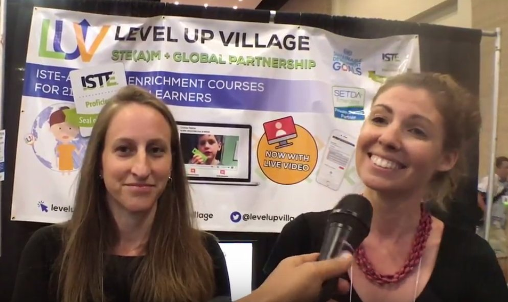 .@nibletztweets caught up with @LevelUpVillage at #ISTE17 this year. Check out the full Interview:  https:// buff.ly/2vLb8b7  &nbsp;   @iste #Edtech<br>http://pic.twitter.com/9Ll8GPAN9T
