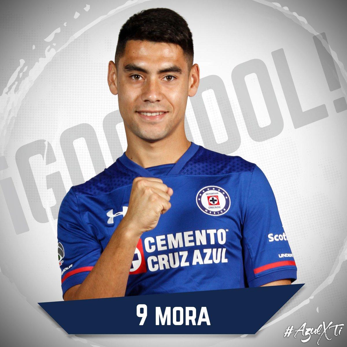 🚂2-0🦊 ⏰| ¡G⚽️⚽️⚽️L! De Cruz Azul a los 14' Felipe Mora con asistencia de Francisco Silva anota el segundo de esta tarde. #AzulXTi🔵