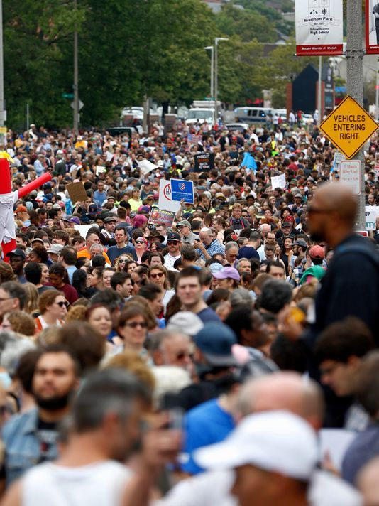Thousands march in Boston for protests a week after deadly demonstration https://t.co/7mcPYPzReQ