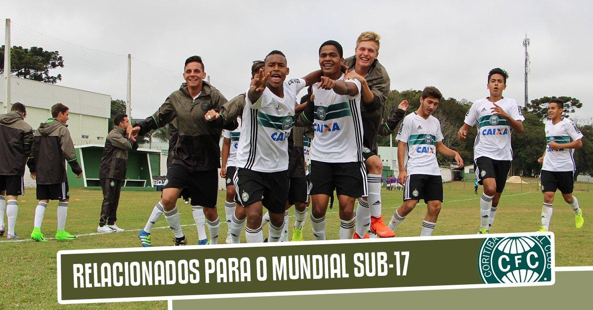 O Coritiba Sub-17 segue viagem para a Espanha. Confira os relacionados para o Mundial de Clubes em Madrid. https://t.co/PsRrq6HYFC