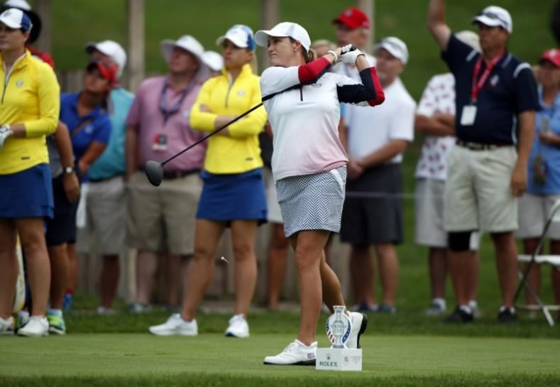 U.S. remain three points ahead of Europe at Solheim Cup https://t.co/jZTVuMwk2r