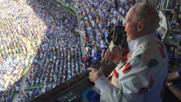 Don Cherry takes vocal talents to Wrigley Field https://t.co/cyRxQHUBz...