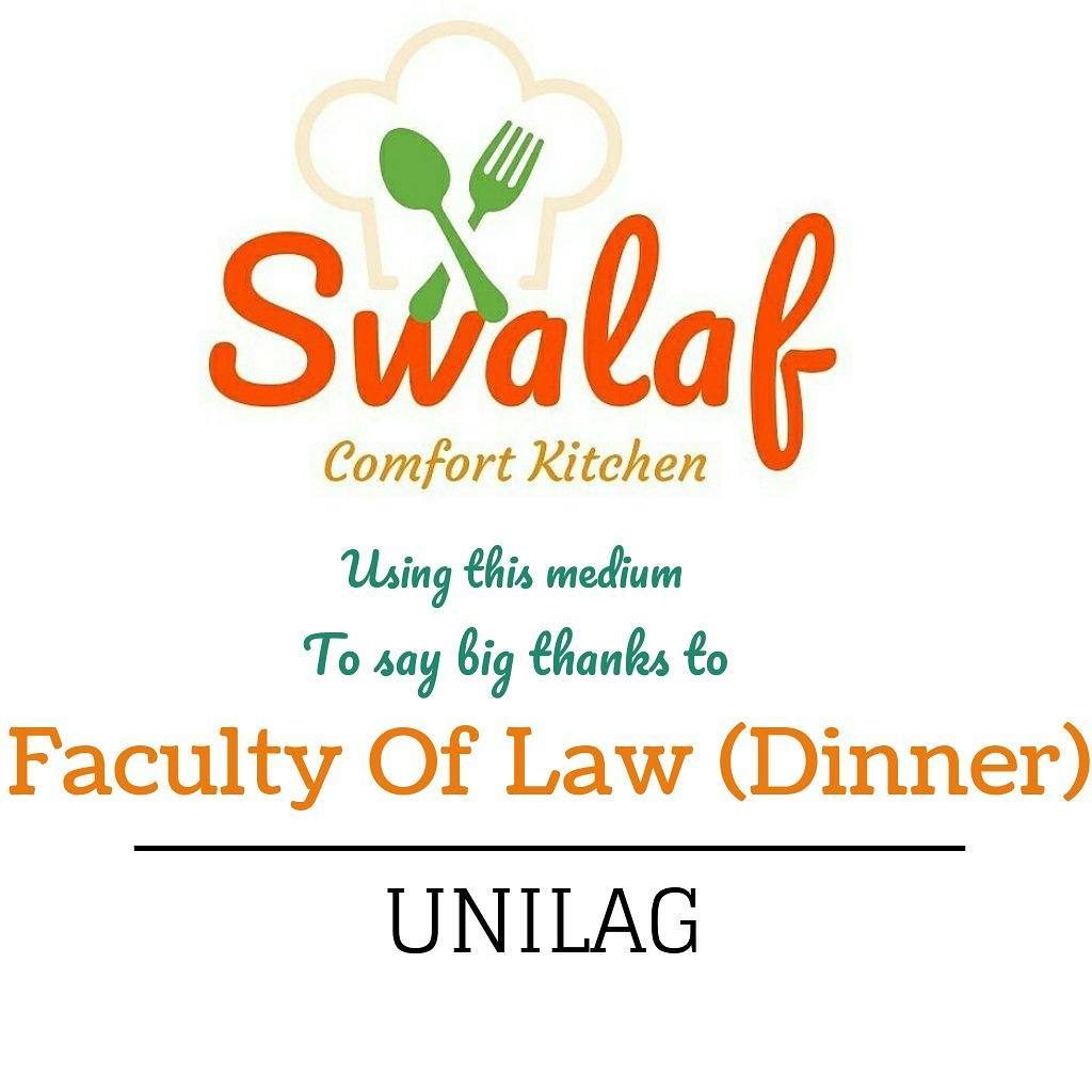 Thank You Faculty Of Law...It was Great working with you... #Lagos #Nigeria #business #market #company #swalaf #swalafcomfortkitchen<br>http://pic.twitter.com/785ShizFXp