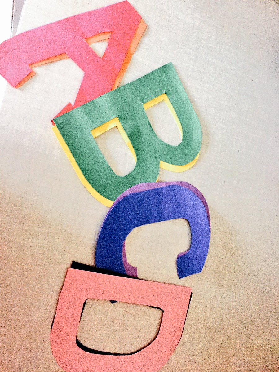 Making letters for our #LetterOfTheDay #Corkboard Teach them early, &amp; they&#39;ll go far! #HomeSchool #ToddlerYears #ParentsAsTeachers<br>http://pic.twitter.com/XjXcFrODmK