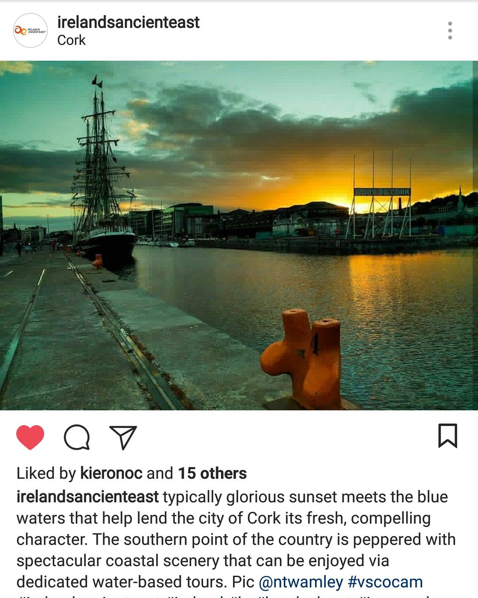 My quest to get a photo shared on the @ancienteastIRL Instagram account ended yesterday-thanks for the feature! #Cork #MScDMCIT<br>http://pic.twitter.com/zHkVky9Z1R