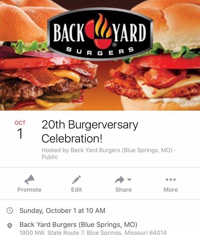 Backyard Burger Blue Springs Mo back yard burgers kc (@backyardkc) | twitter