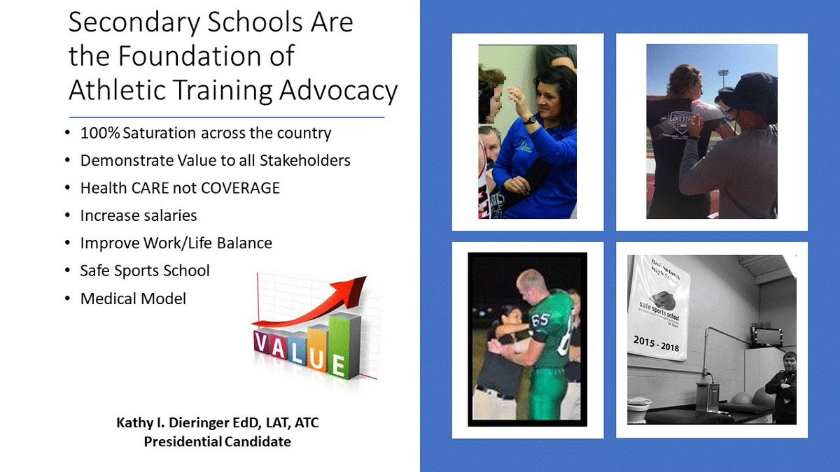 We will continue to promote SS ATs and 100% saturation in SS setting! Our children, the most vulnerable athletes, deserve it. #AT4ALL #Vote <br>http://pic.twitter.com/v2WFkvRa8b