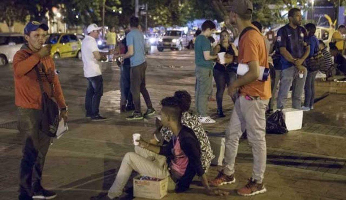 Los riesgos y conflictos que afrontan los migrantes venezolanos en Cúc...
