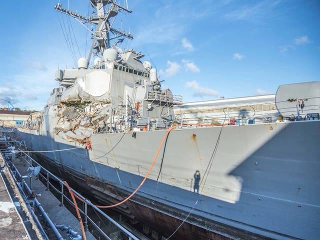 Report details sailors' escape after USS Fitzgerald collision https://t.co/V9HNZ665FI