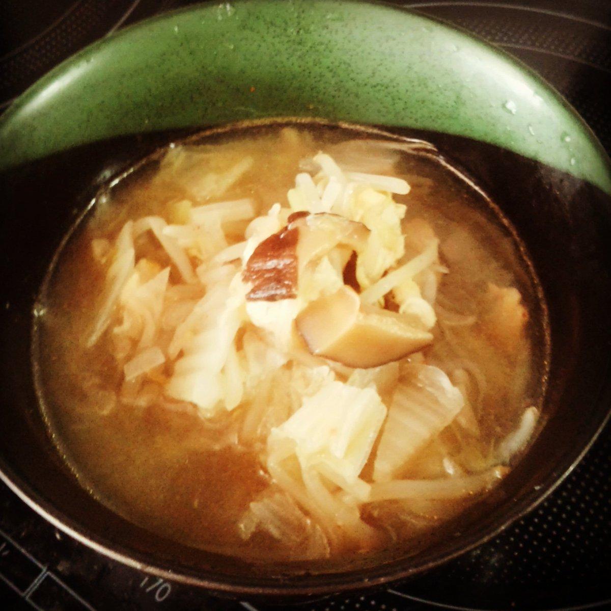 スープ 白菜 玉ねぎ