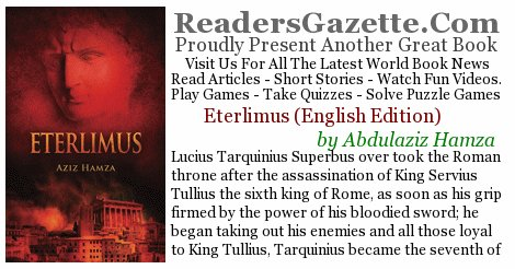 Eterlimus (English Edition) @azizhamza #Adventure https://t.co/IF0UdDekd8 Lucius Tarquinius Superbus over took the Roman thr #RGBook 2