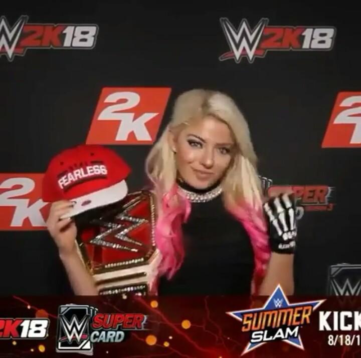 @AlexaBliss_WWE @WWEgames #WWE2K18 #WWEgamenight #2KSummerSlam #WWESup...