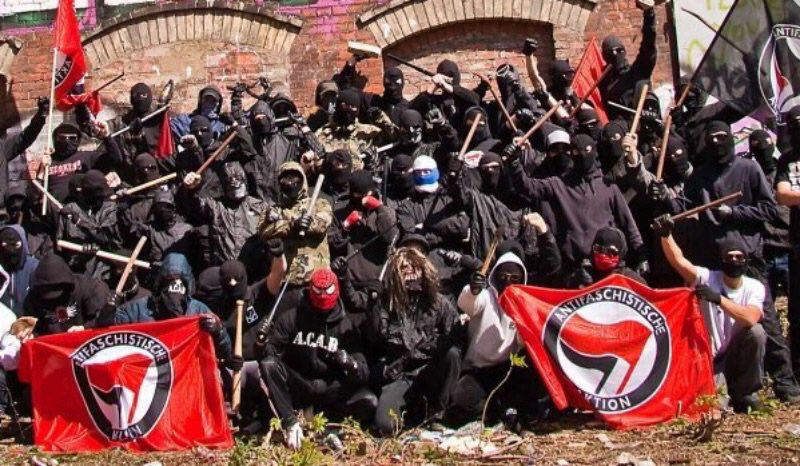 THE NEW BLACKSHIRTS: This is the fascist private militia that the left wants to immunize from public criticism #Antifa