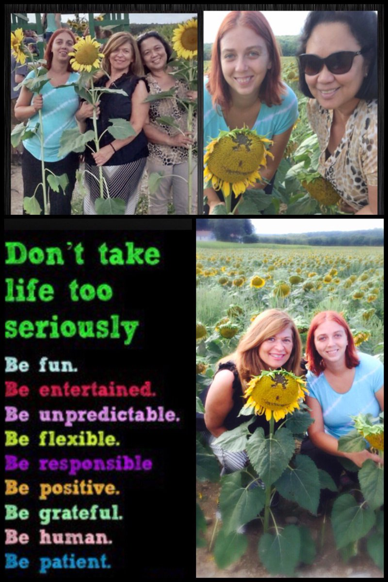 Age is just number may you never lose your sense of adventure. #sunflowers #friends #laughter #ThinkBIGSundayWithMarsha<br>http://pic.twitter.com/SYVOP8e8tk