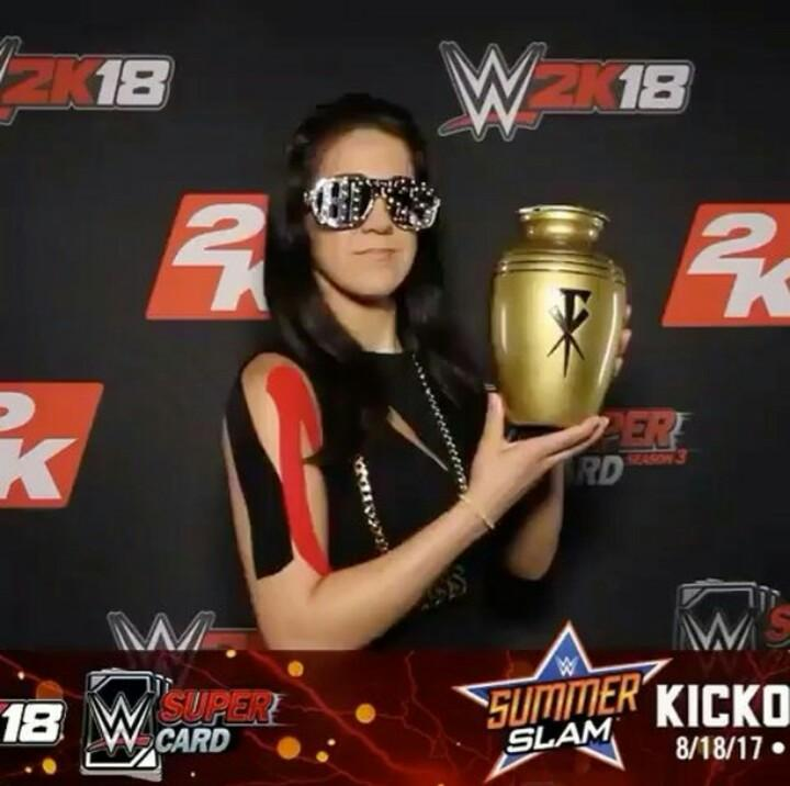 @itsBayleyWWE @WWEgames #WWE2K18 #WWEgamenight #2KSummerSlam #WWESuper...