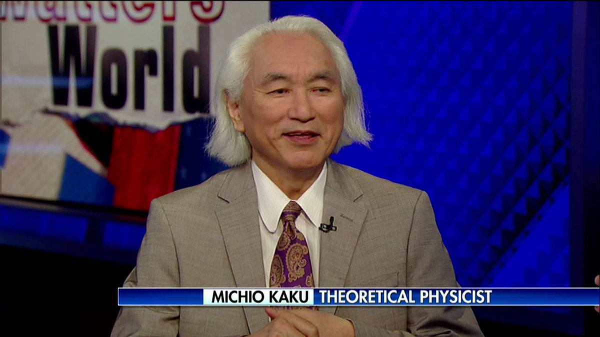 .@michiokaku on the solar eclipse: 'For two minutes and forty seconds... Animals will start to go to sleep. You'll see the stars at night.'