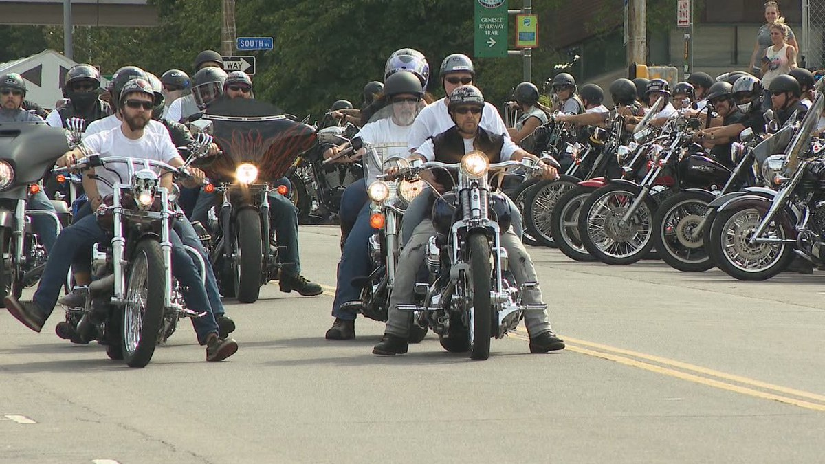 Motorcycle ride through #ROC-area towns raises awareness for opioid addiction https://t.co/tYjfpMJU5n #13WHAM