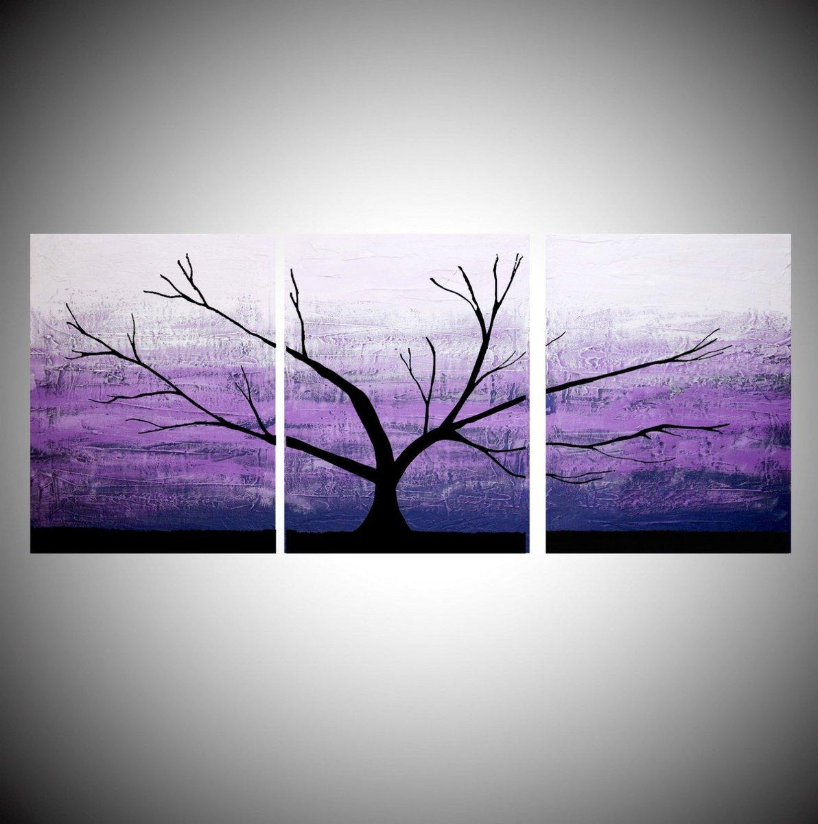 AFFORDABLE WALL ART triptych 3 panel wall contemporary art Tree of…  http:// tuppu.net/fe9ba24c  &nbsp;   #canvas #ContemporaryArt<br>http://pic.twitter.com/6cUys4nPFc