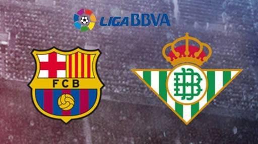 La liga!! Domingão com @FCBarcelona x @RealBetis, ESPN Brasil, 15h, comigo e Paulo Calçade. Bora??