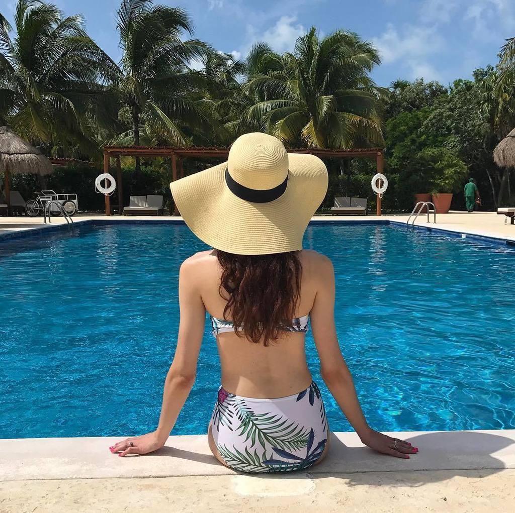 Girls just wanna have sun.  $16 Bikini (it&#39;s high-waisted!) + floppy hat here:  http:// liketk.it/2srNE  &nbsp;   #liketkit @liketoknow.it ♡ ♡ ♡<br>http://pic.twitter.com/cRuus9yDfc