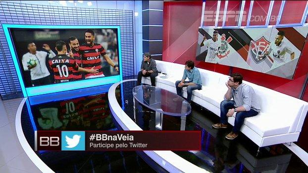 Vagner Mancini questiona números e discute com repórter em coletiva após vitória sobre o Corinthians https://t.co/qUVRUAcjnA