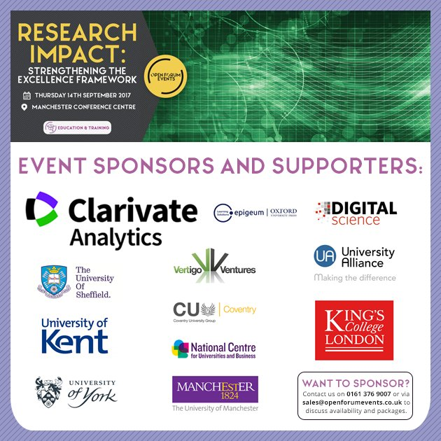 Interested in raising your profile at our #ResearchImpact event? Find out more here:  http:// ow.ly/9QX930evLYf  &nbsp;   #NHS #REF #REF2021<br>http://pic.twitter.com/HWmosbiluk