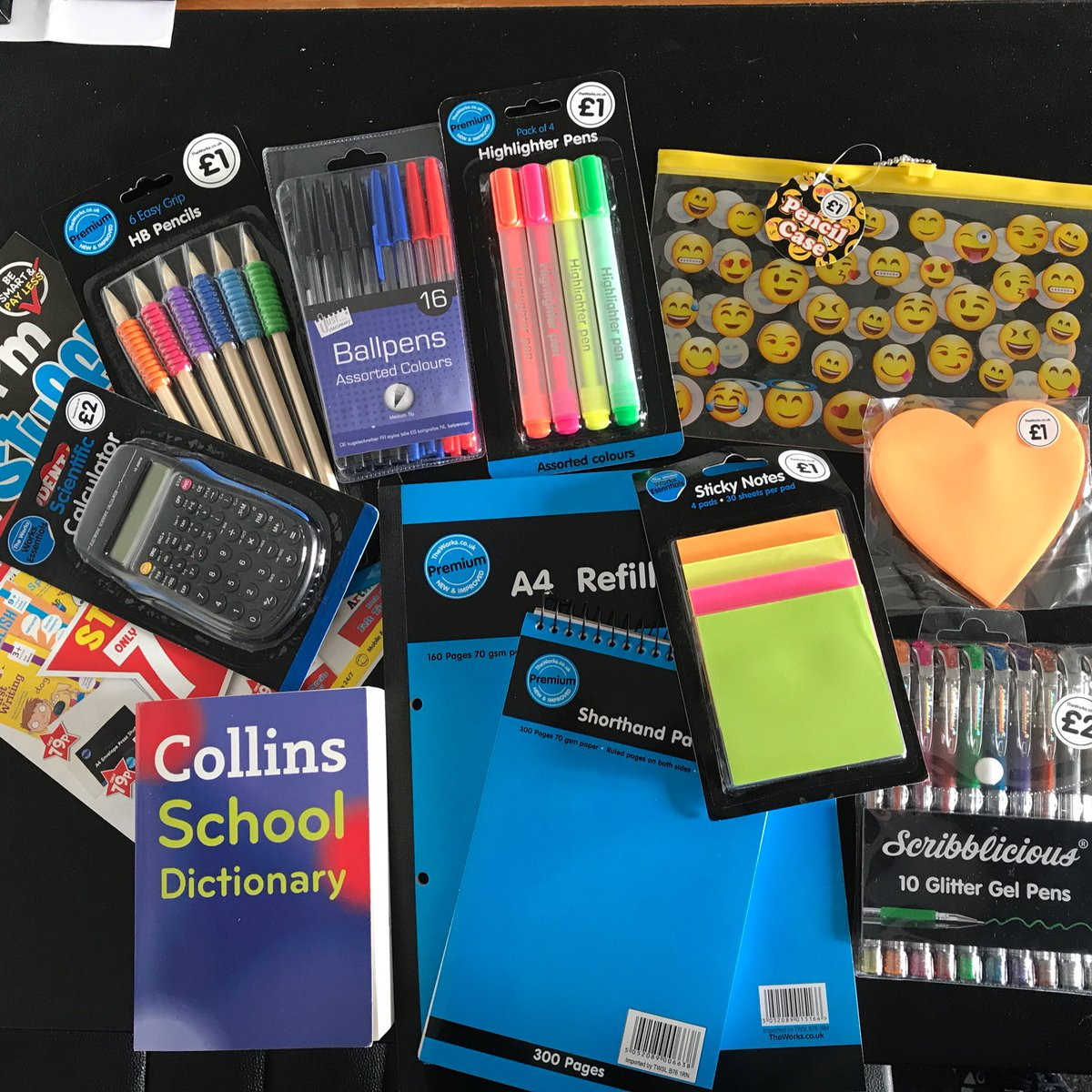 #giveaway want to #win this #awesome collection of #backtoschool essentials from @TheWorksStores just #followus &amp; #RT #free #stationery<br>http://pic.twitter.com/wtd4HwyTTG