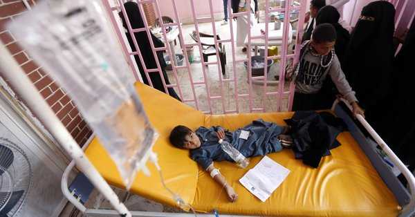 &quot;Millions of people are facing a triple tragedy&quot;: #UN demands more humanitarian access to #Yemen:  http:// aje.io/8thqj  &nbsp;   v/@AJENews @unicef<br>http://pic.twitter.com/XTSmIFh3pW