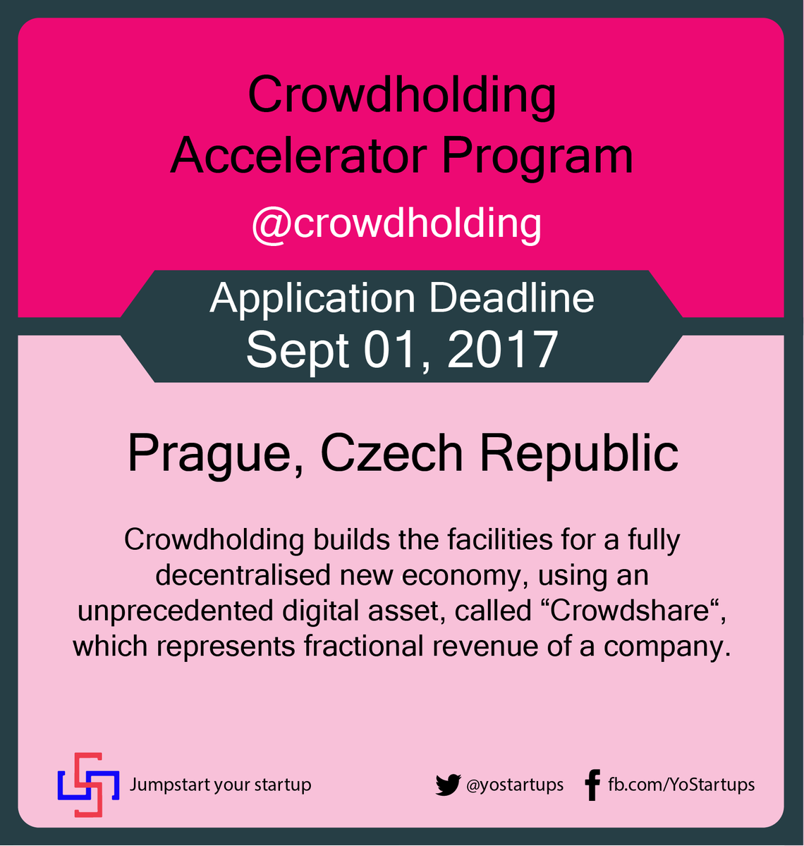 Checkout @crowdholding connects crowd with #entrepreneurs for feedback &amp; #ideas for #future revenue #accelerator  https:// goo.gl/9LaAWs  &nbsp;   <br>http://pic.twitter.com/cgtXVx3BIh