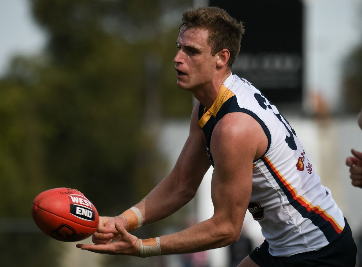 A massive opportunity missed today @SANFL Crows 8.9 (57) fall to @EAGLES_WWTFC 10.8 (68) #weflyasone