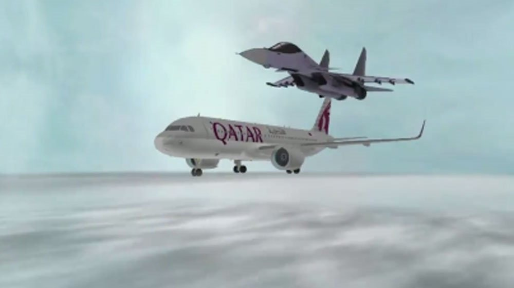 Qatar files complaint with ICAO over a Saudi TV channel's report showing a Qatar Airways plane being shot down https://t.co/oXui4tJTRN