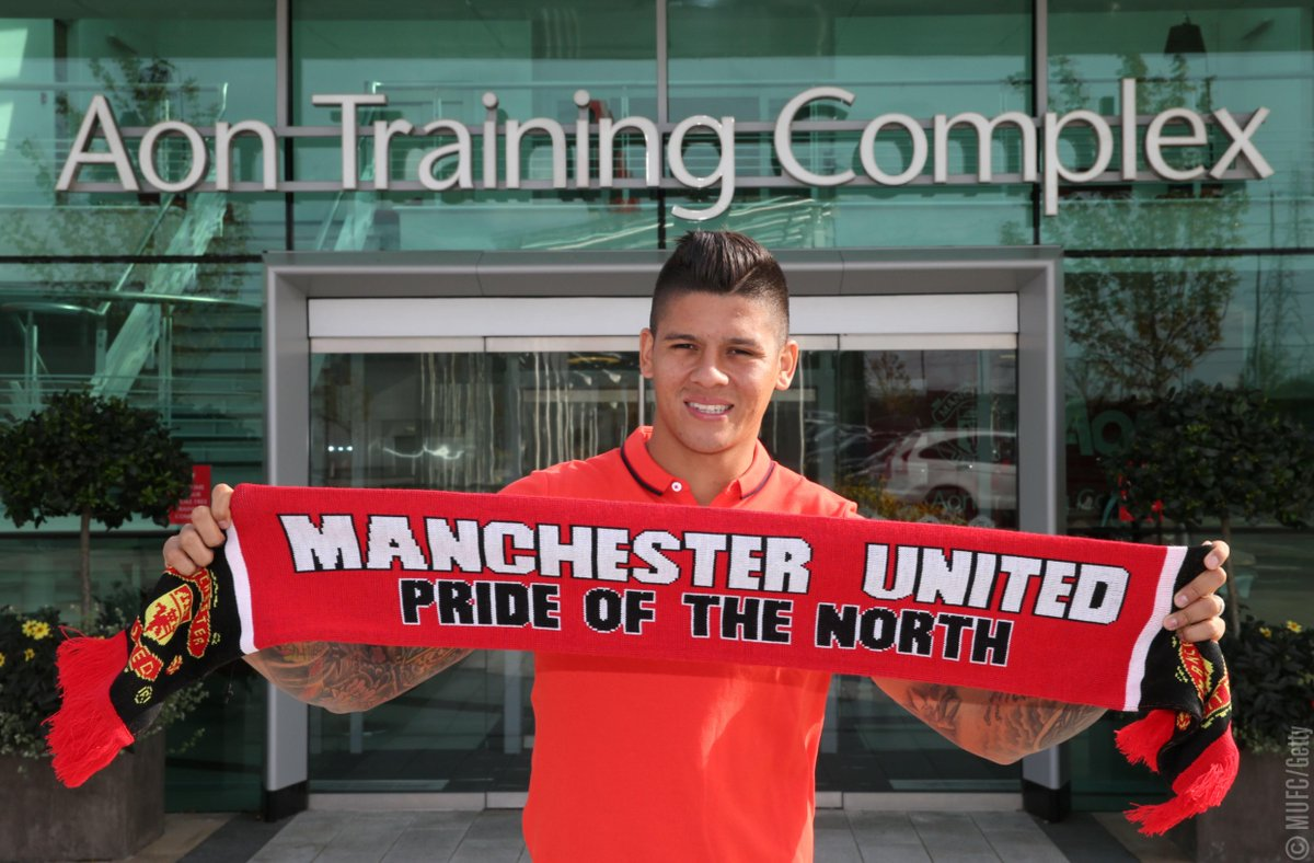 Marcos Rojo joined #MUFC on this day in 2014! https://t.co/sLrEKoR6wy