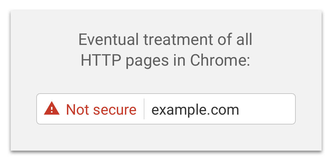From October 2017 Google will label HTTP pages as NOT SECURE. Migrate #WordPress from HTTP to #HTTPS with a free SSL  https:// buff.ly/2x2MbH0  &nbsp;  <br>http://pic.twitter.com/UIeNHuC4Xz