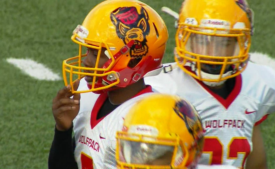 .@wvhs_WolfPack These West Valley football helmets may be tops in the state... #Wolfpack #LOUD <br>http://pic.twitter.com/wYEUJ2iCVD