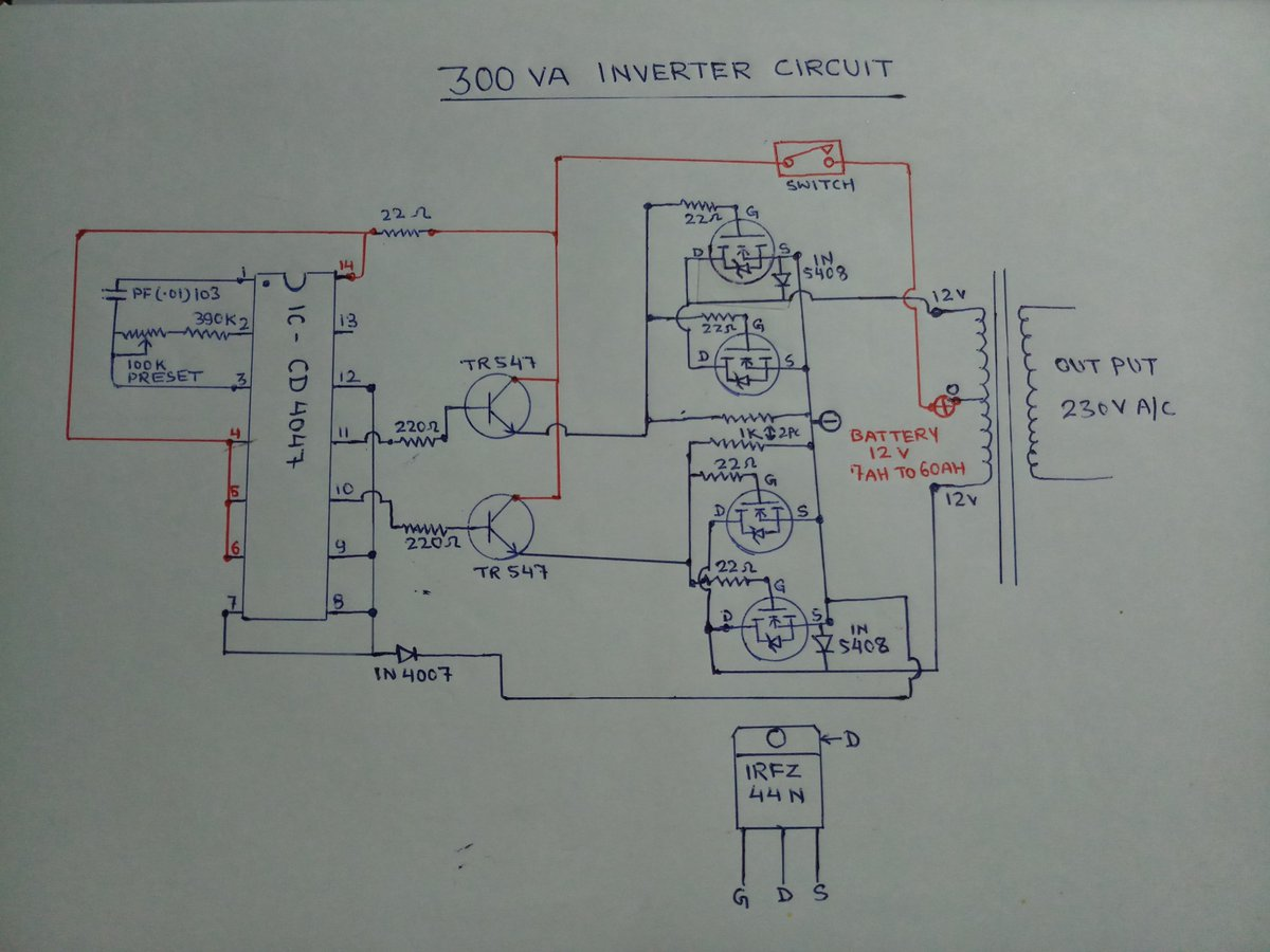 Inverter Circuit Diagram Youtube Most Uptodate Wiring Info 5000w Power Library Rh 64 Codingcommunity De 2000w