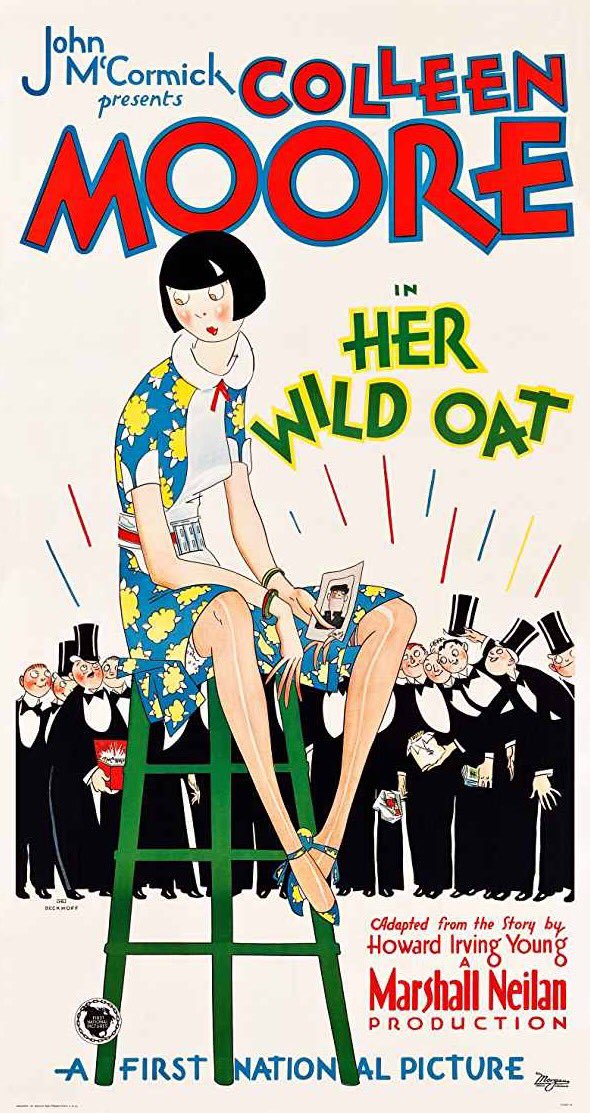 &quot;Her Wild Oat&quot;, 1927. #ColleenMoore #posterart #movieposter #botd<br>http://pic.twitter.com/W9cNNuoI3F