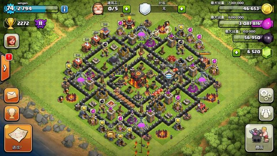 clash of clans online free no download