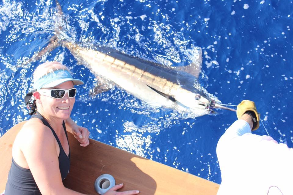 Kona, HI - Pursuit went 2-4 on Blue Marlin.