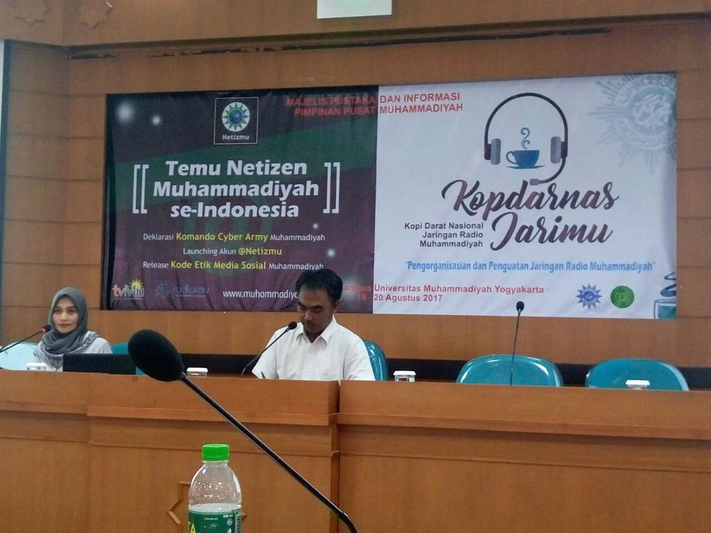 #INFO  management jaringan Radio Muhammadiyah #kopdarnas @KH_Ahmad_Dahlan
